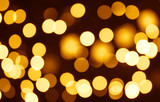 christmas bokeh -  horizontal abstract pattern for your project poster