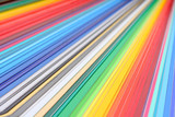 color guide, close-up shot, shallow depth of field poster