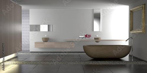 Luxury modern bathroom - 5466158