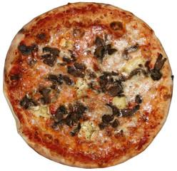 Pizza Funghi e Brie