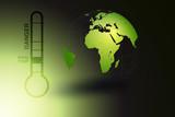 terre ecologie climat danger poster