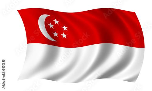 singapur fahne singapore flag