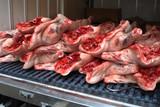 Livraison de viande poster