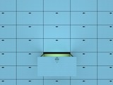 Open cell in safety deposit box. 3D image. poster