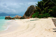 the island La Digue in the Seychelles