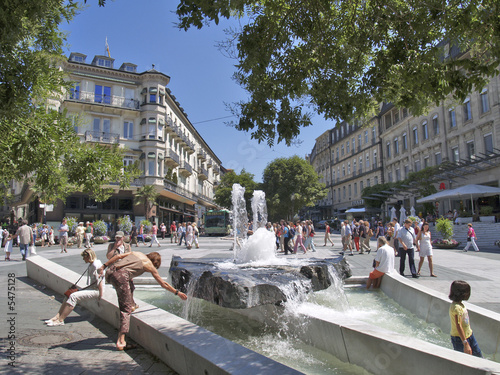Baden-Baden im Sommer - 5475128