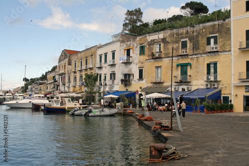 Hafenansicht Ischia, Italien, Golf von Neapel