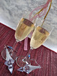 Two flutes of bubbly for New Years