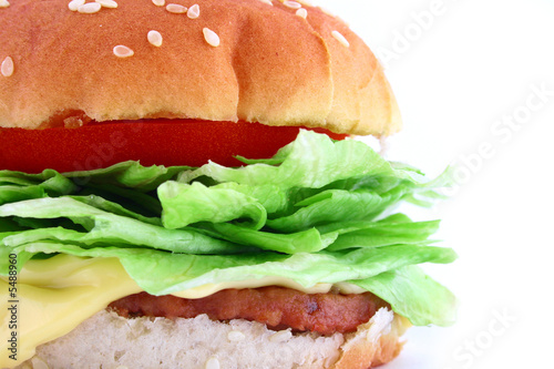Big Juicy Classic Beef Burger by Magdalena Żurawska, Royalty free ...