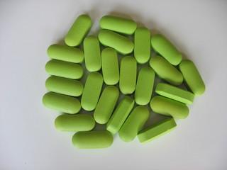 Pills green