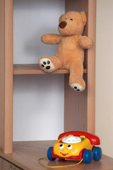 An image of toys in baby-room