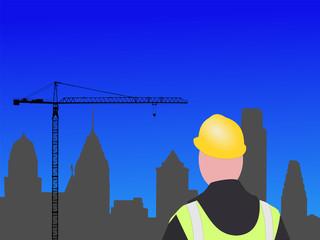 Philadelphia construction site