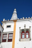 window detail of the national palace in sintra poster