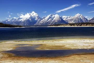 Grand Tetons NP after first snow