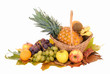 Fresh seasonal fruit,