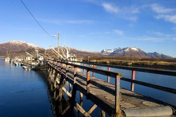 dock in Alaska