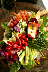 Vegetable Platter Tray