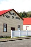 Thames School of Mines, Thames, Coromandel Peninsula, NZ. poster