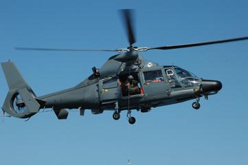 elicottero usato per il soccorso