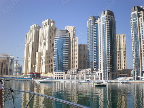 Budynki Dubai Marina