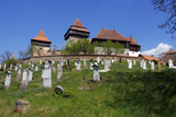 Fortified Church from Viscri, Transylvania poster