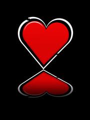 Rot wie die Liebe, gespiegelt