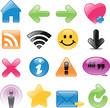 Glossy Web Symbols