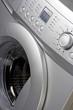 Close up of a washing machine