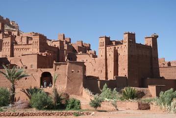 Famous kasbah Aït Benhaddou