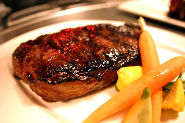 Steak on a Platter