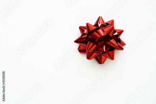 red gift ribbon