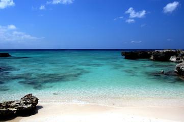 spiaggia cristallina di Gran Cayman