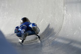 Boblseigh in Sigulda, Latvia, Europe - very popular winter sport