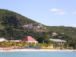St Maarten in the Caribbean