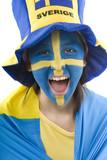 Schweden-Fan poster