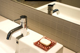 Image of a nice wash basin. poster