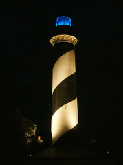 phare la nuit