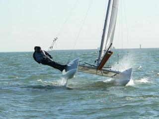 catamaran au planning