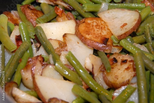 Green Beans and Potatos