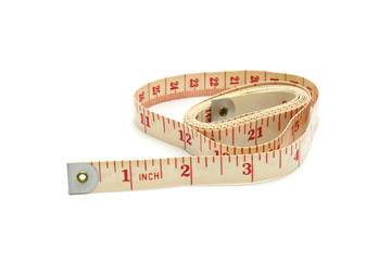Double sided measuring tape