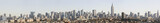 Manhattan skyline from the Jersey City bluffs, post 9-11