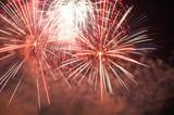 Fireworks Bursts poster