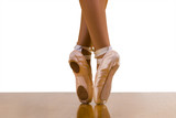Using asymmetric(al) dance shoes to perfect skill of dance. poster