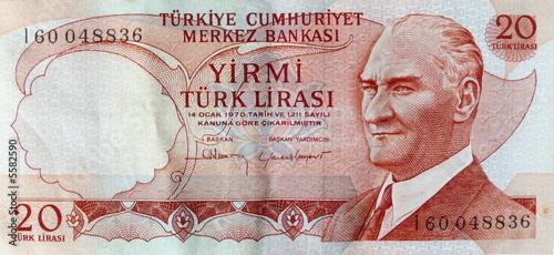 Geldschein Türkei