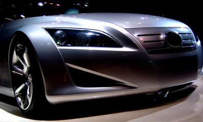 A concept car from the 2005 autoshow.