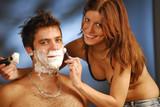 Shaving poster