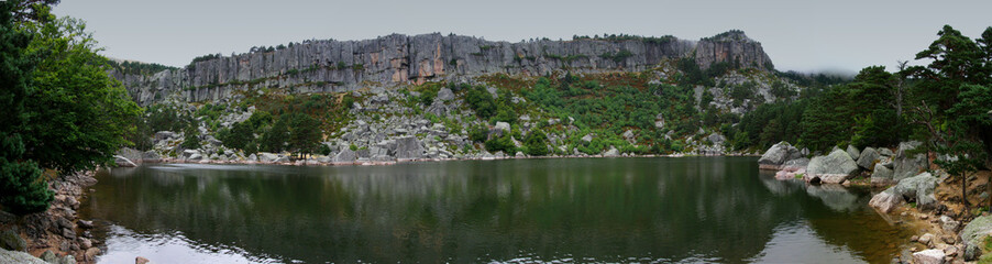 Panorama Laguna negra