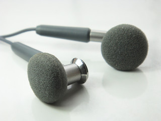 isolated earphones