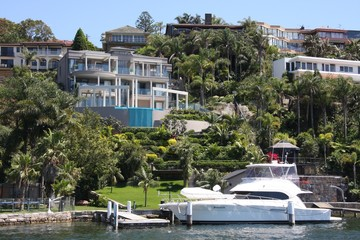 Sydney waterfront suburb