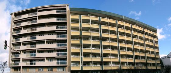 Immeuble moderne, Lyon France